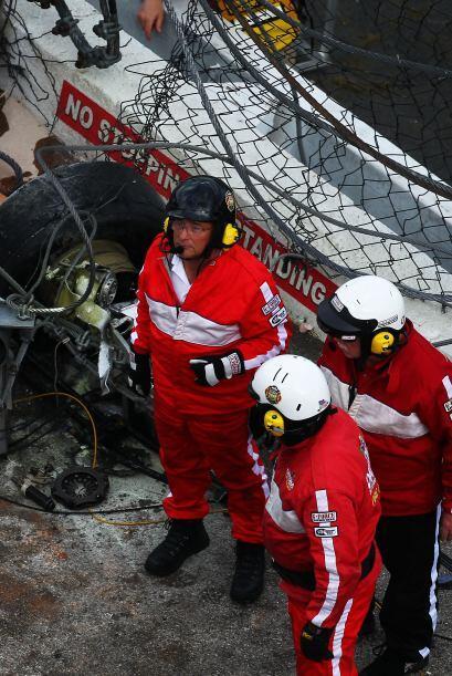 Los servicios de emergencia reaccionaron de manera eficiente.