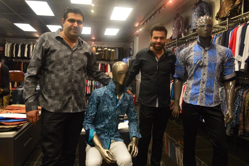 Shawn y Sam Esteghbal son los propietarios de Barabas.