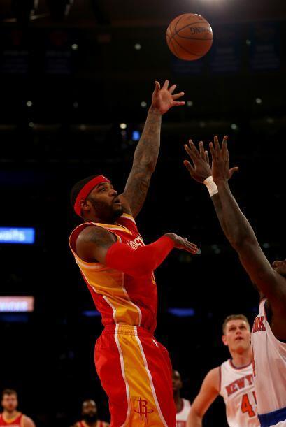 Además la humillación de los Knicks fue completa porque ninguno de sus t...