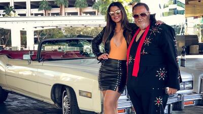 Clarissa Molina se va con Elvis (y El Gordo) a recorrer la ciudad del pecado