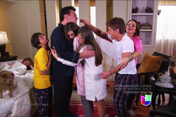 ¡Qué felicidad Fernando! Tus hijos y Ana están s&uac...