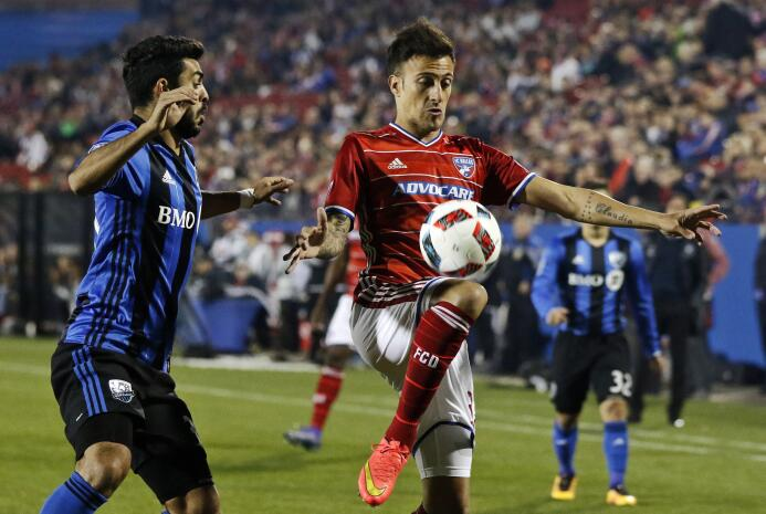 Maxi Urruti le dio la victoria a FC Dallas sobre Montréal Impact