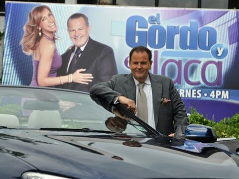 Sorprendimos a Raúl de Molina a la salida del estudio de El Gordo...