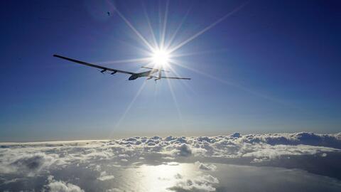 El avión solar prosigue con su intento de dar la vuelta al mundo