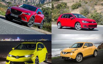 10 autos nuevos por menos de 300 dólares al mes