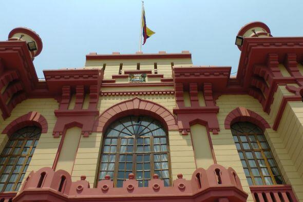 El simbólico cuartel, al que en un principio se referían como el Museo d...