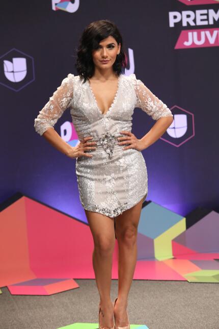 Las mujeres de la alfombra en Premios Juventud 2017