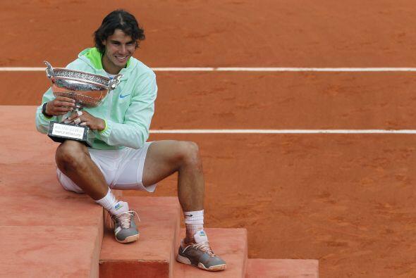 """Nadal, actual número uno del tenis mundial, indiscutiblemente es el """"Rey..."""
