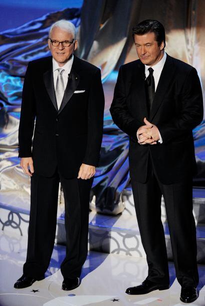 Steve Martin y Alec Baldwin fueron el dúo presentador del Premio de la A...
