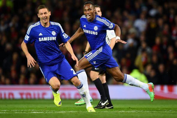 El histórico delantero del Chelsea puso un cabezazo letal para el 1-0.