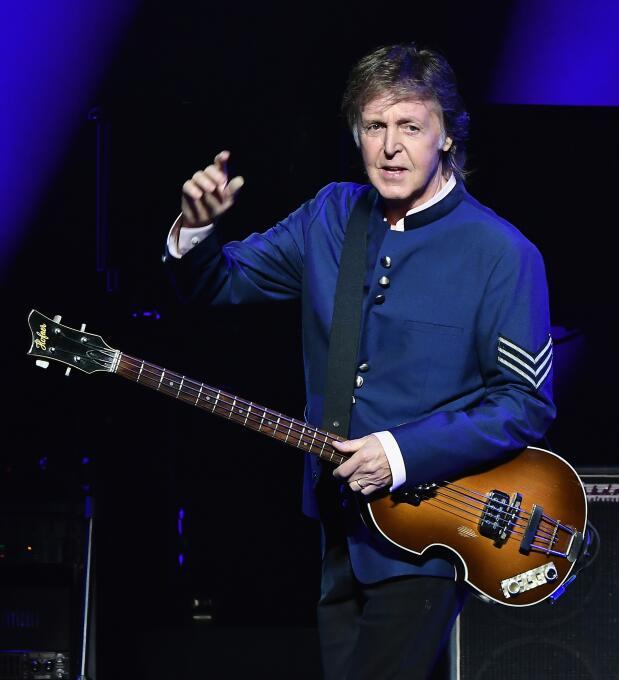 7. Paul McCartney (Músico) - ingresos de 54 millones de dólares en el 2017