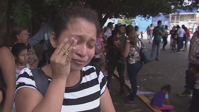Cientos de nicaragüenses llegan a Costa Rica huyendo de la violencia en su país.