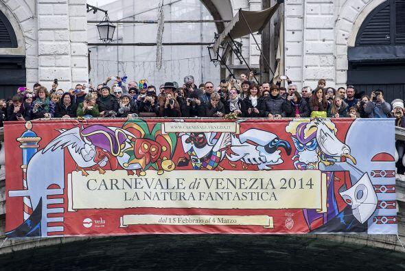 """La """"Festa Venezia"""" (fiesta venecia) inauguró las actividades, que conclu..."""