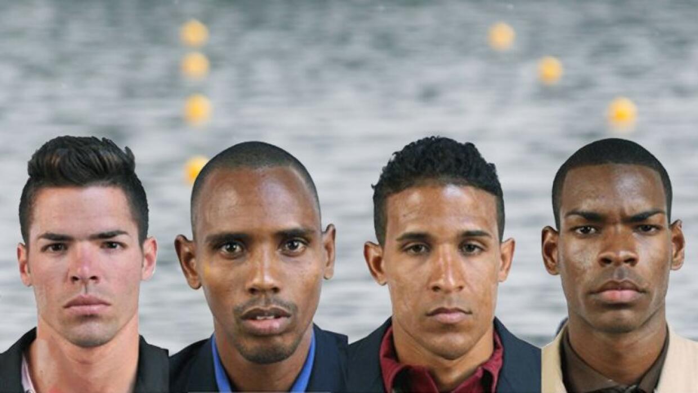 Manuel Suárez, Leosmel Ramos, Wilber Turros y Orlando Sotolongo, los rem...