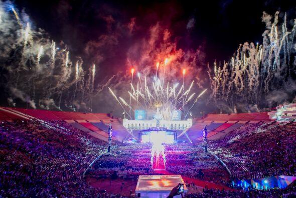 Atletas de más de 165 países llegaron al Memorial Coliseum de Los Ángele...