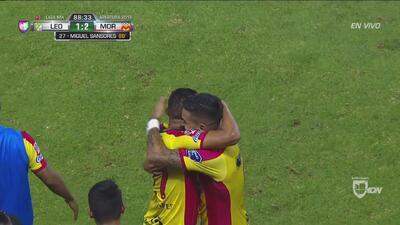 Morelia se impuso de visita 2-1 a León con estos goles