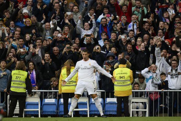 Es el noveno gol de Ronaldo en los últimos cuatro partidos. El portugués...
