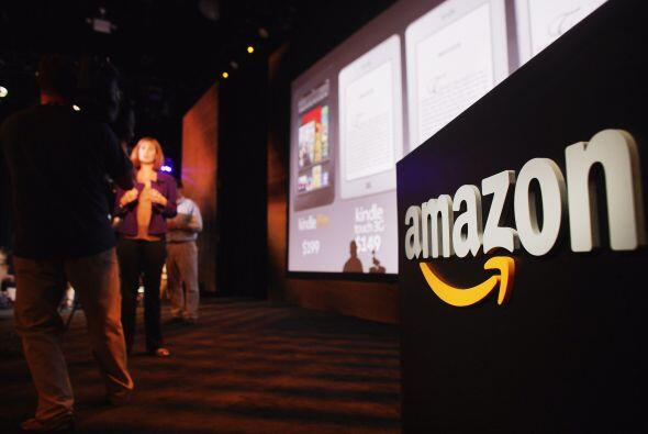 AMAZON- La tienda por Internet anunció que en el primer trimestre del añ...