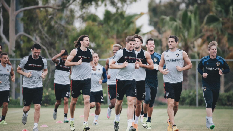 LA Galaxy se prepara para el debut para Steven Gerrard