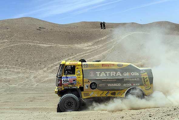 El piloto de Tatra puso fin a la hegemonía de 24 especiales consecutivas...