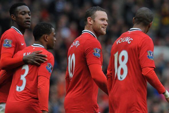 Rooney sumaba dos tantos a su cuenta personal en lo que va de la temporada.