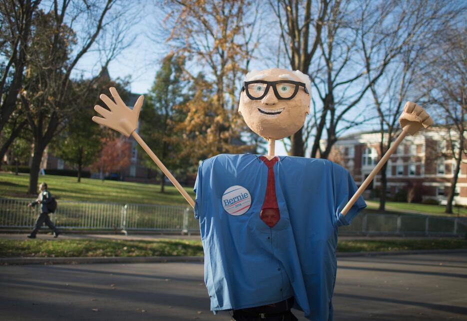 Los muñecos de Bernie Sanders