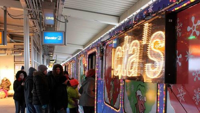 Tren de Navidad de la CTA