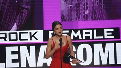 """Selena Gómez en los AMAs: """"Tuve que parar porque lo tenía todo, pero estaba rota por dentro"""""""