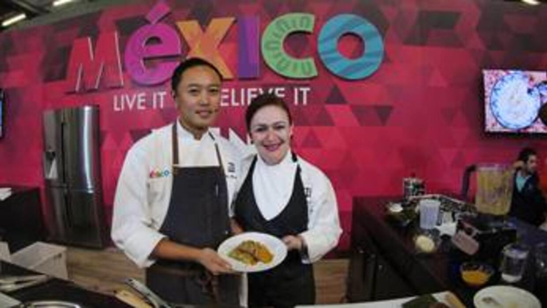 Los Chefs Margarita Carrillo y Arnie Marcella