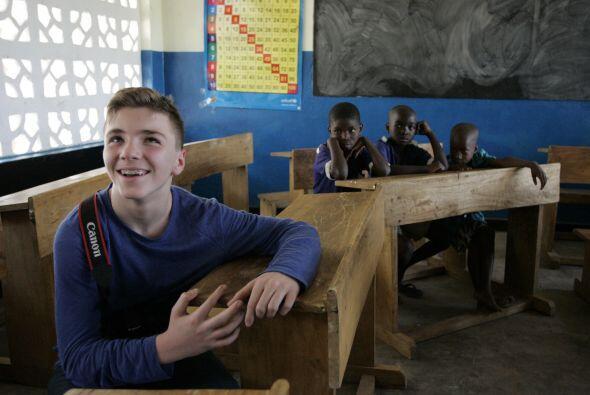 Este año, acompañó a su madre a sus obras benéficas en Malawi. Mira aquí...