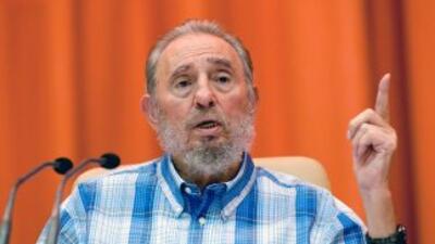 """El líder cubano, Fidel Castro aceptó errores en su """"revolución""""."""