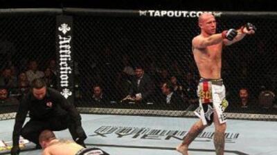 Cerrone derrotó a Miller por nocaut ténico (Foto: Twitter).