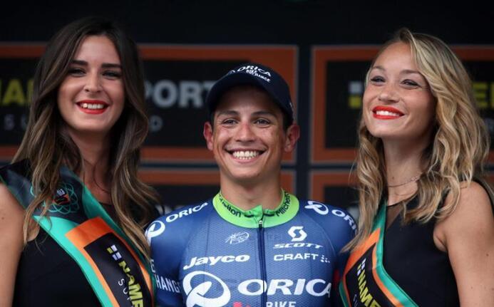 Esteban Chaves: triunfo latino por primera vez en 110 años de Giro de Lo...
