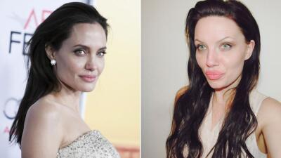 Angelina Jolie y Melissa Blaizen