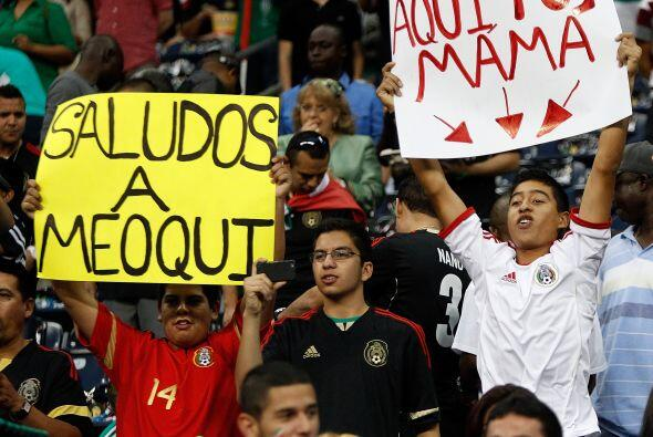 Así se vieron las jugadas, los jugadores, el Chepo y los fanáticos desde...