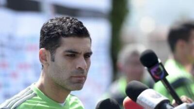 Rafa Márquez, el único seguro en el Mundial, según Miguel Herrera.