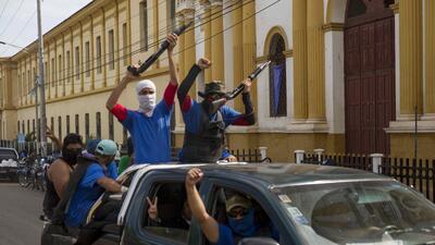 📷 Masaya, una ciudad tomada por paramilitares del gobierno de Ortega en Nicaragua
