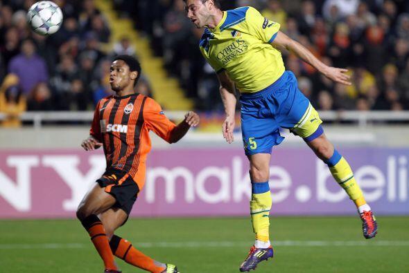 La victoria fue para el Shakhtar 2 a 0 pero no le alcanzó y quedó descal...