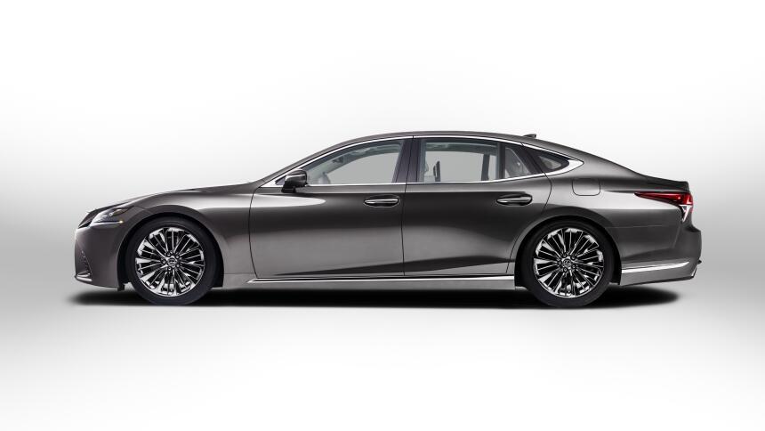 Este es el LS, la atracción de Lexus en el Auto Show de Detroit