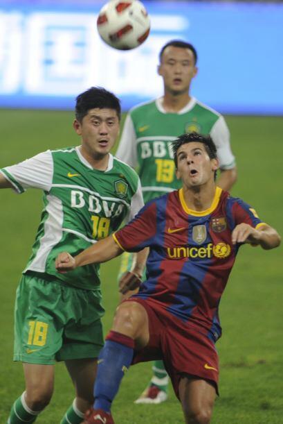 El primer gol fue obra del desconocido Roberto apenas al minuto 11.