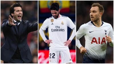 Rumores del Real Madrid: Isco se iría a Inglaterra y Eriksen llegaría para llenar su vacante