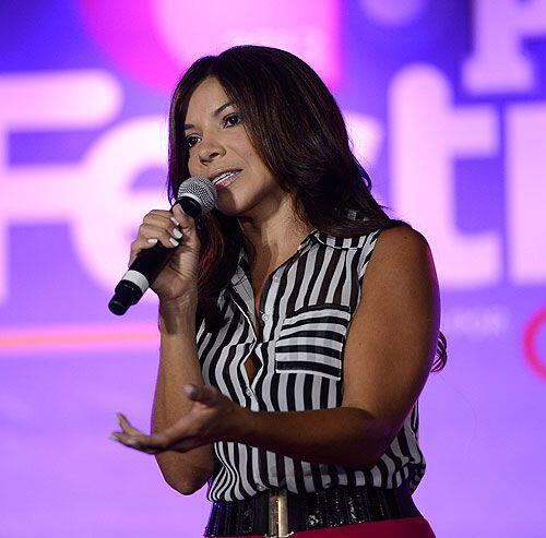 Nuestra querida Paula Arcila disfrutó del festival de People en Español...