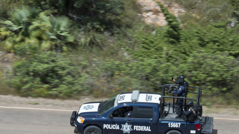 La búsqueda en Carrizalillo, Guerrero.