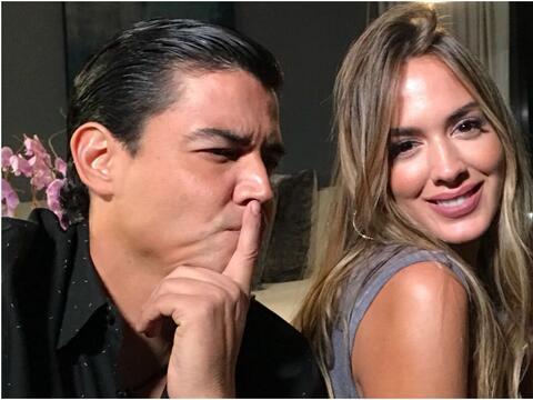 Shannon de Lima con Orlando Segura