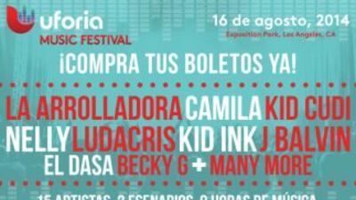 ¡Boletos para el Uforia Music Festival ya estan a la venta!