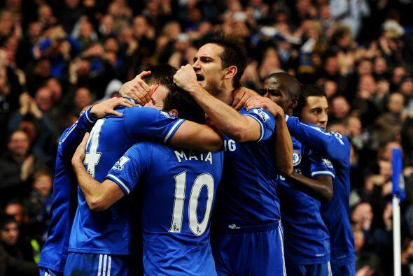 Chelsea al fin estaba al frente en el marcador.