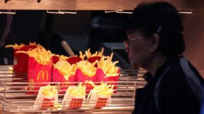 Papitas fritas de Mc Donald's.