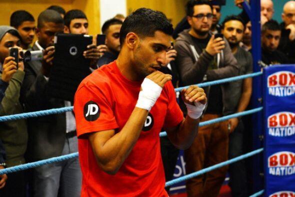 El objetivo de Khan es vencer a Díaz y después disputar el...