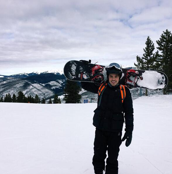 William Valdes vacaciones Vail 2016