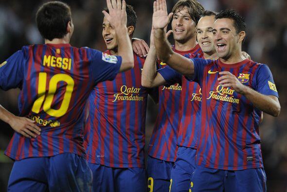 El Camp Nou vivía su fiesta.